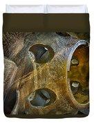 Steampunk Turbine Duvet Cover