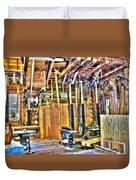 Steampunk Woodshop 4 Duvet Cover