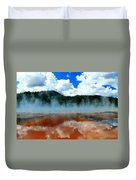 Steams And Reflections Duvet Cover