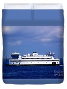 Steamship Authority Ferry Duvet Cover