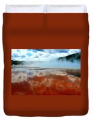 Steamy Springs Duvet Cover