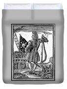 Stede Bonnet (c1688-1718) Duvet Cover