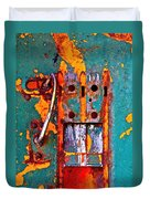 Steel Abstraction Duvet Cover