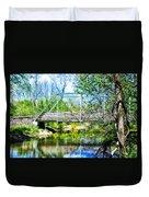 Steel Span Bridge Gettysburg Duvet Cover