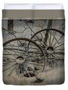 Steel Wheels Duvet Cover