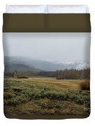 Steens Mountain Landscape - No 2a Duvet Cover