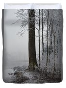 Steep And Frost Duvet Cover
