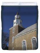 Steeple At Bruton Parish Church Duvet Cover