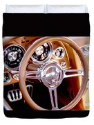 Steering History Duvet Cover