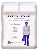 Stein Song Duvet Cover