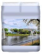 Steinbrenner Field Lake 2 Duvet Cover