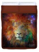 Stellar Lion Duvet Cover