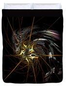 Stellar Spikes Duvet Cover