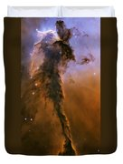 Stellar Spire In The Eagle Nebula Duvet Cover by Adam Romanowicz