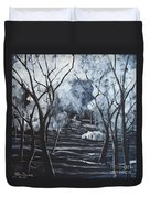 Step Into The Woods Duvet Cover