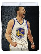 Stephen Curry Duvet Cover