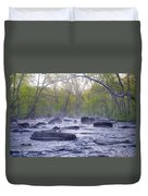 Stepping Stones Duvet Cover by Bill Cannon