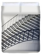 Steps And Shadow On Tank Duvet Cover
