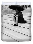 Steps Of Rain Duvet Cover
