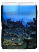 Steps Of The Sea Duvet Cover