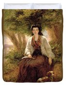 Sternes Maria, From A Sentimental Duvet Cover by William Powell Frith