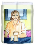 Steve Gross Duvet Cover