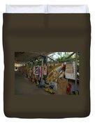 Steve Irwin Memorial Duvet Cover