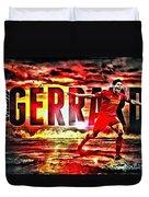 Steven Gerrard Liverpool Symbol Duvet Cover