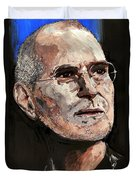 Steven Paul Jobs Duvet Cover