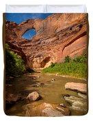 Stevens Arch - Escalante River - Utah Duvet Cover