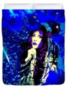 Stevie Nicks In Blue Duvet Cover