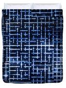 Stick Labyrinth Duvet Cover