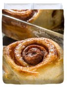 Sticky Cinnamon Buns Duvet Cover