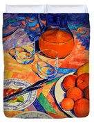 Still Life 1 Duvet Cover