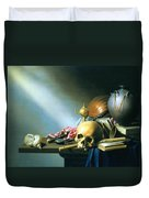 Still Life An Allegory Of The Vanities Of Human Life Duvet Cover