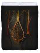 Still Life - Fishing Nets Duvet Cover by Jeff Burgess