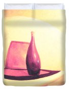Still Life In Pink Duvet Cover