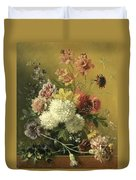 Still Life With Flowers Duvet Cover