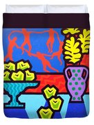 Still Life With Matisse Duvet Cover