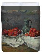 Still Life With Tomatoes Duvet Cover