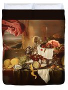 Still Life With View Duvet Cover