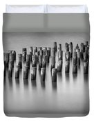 Still Waters Bw Duvet Cover