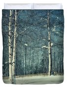 Still Winter Duvet Cover by Priska Wettstein