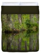 Stillness Swamp Duvet Cover
