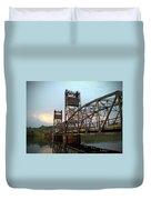 Stillwater Lift Bridge Duvet Cover
