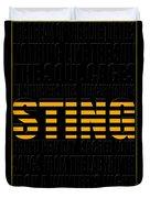 Sting Duvet Cover