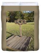 Stockade Ninety Six National Historic Site Duvet Cover