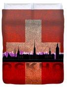 Stockholm City Duvet Cover