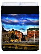 Stockholm In Color Duvet Cover