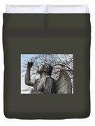 Stone Angel Duvet Cover